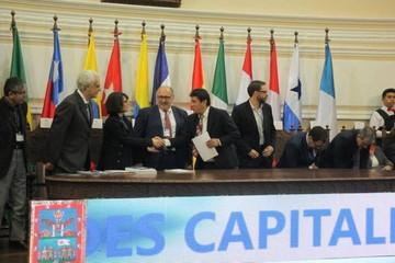 Sucre: Abren evento de la Unión de Ciudades Capitales Iberoamericanas