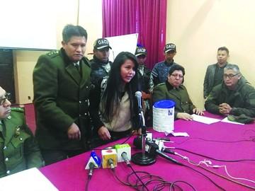 Solidaridad del Gacip con su camarada