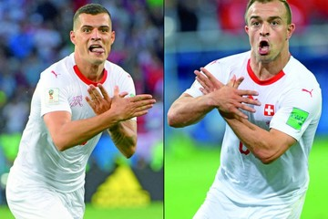 La FIFA multa  a suizos por festejo