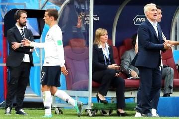 Francia amarra el primer puesto Dinamarca el segundo en el primer 0-0