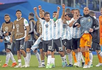 Dios está con Argentina