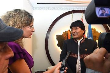 Evo descalifica y rechaza el informe de EEUU sobre Bolivia y el tráfico de personas