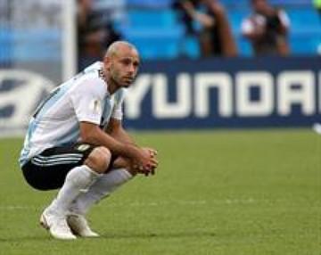 Mascherano se despide de la selección argentina