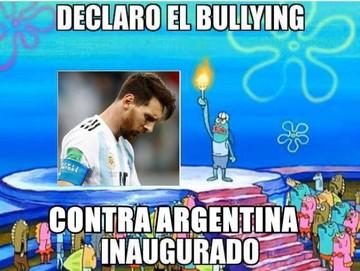 Memes inundan las redes tras derrota de Argentina