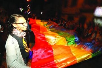 La transexual Dayana Kenia, emblema TLGB