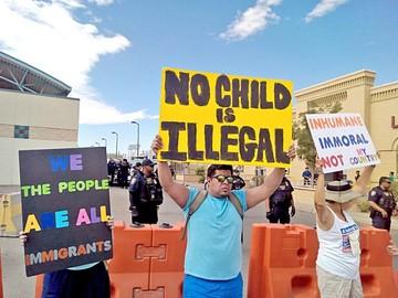 EEUU se moviliza contra separación de migrantes