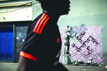 Banksy reaparece en París