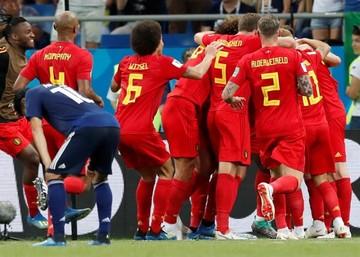 Un gol de Chadli en el añadido da la clasificación a Bélgica (3-2)