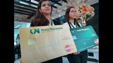 Cooperativa Jesús Nazareno lanza su tarjeta de crédito