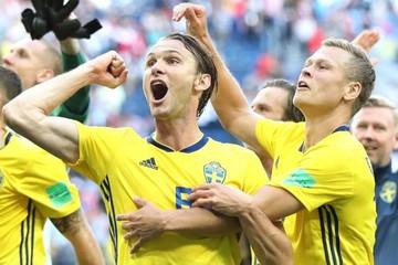 Suecia gana a Suiza y se clasifica a cuartos 24 años después