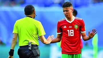 Marroquí Harit en problemas tras el Mundial