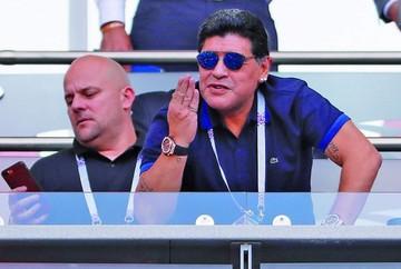 Maradona se disculpa