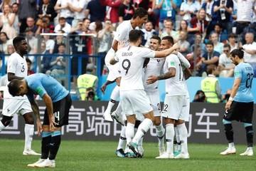Uruguay se queda en el camino y Francia avanza a semifinal