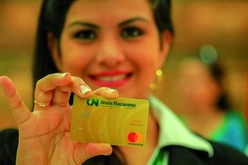 Jesús Nazareno, la primera en emitir tarjetas de crédito