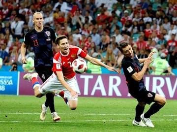 Vida y Fernandes llevan el Rusia-Croacia a los penaltis