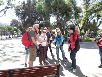 Turistas franceses y alemanes se interesan mucho más por Sucre