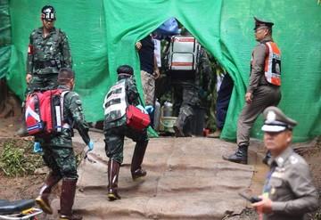 Tailandia: Rescate de niños atrapados se aproxima a su final