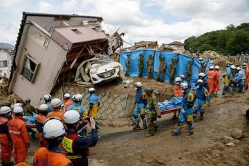 Japón: Sube la cifra de víctimas por las lluvias