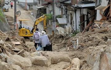 179 muertos por las lluvias torrenciales en Japón