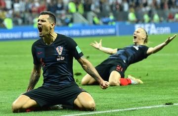 ¡Croacia finalista! Venció 2-1 a Inglaterra en el alargue