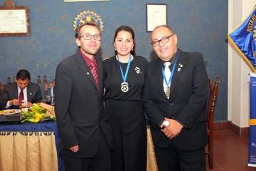 Transmisión de mando del Rotary Club