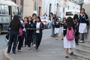 Las actividades educativas en Sucre se reanudan este lunes 16 de julio