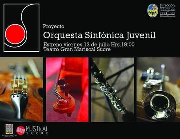 La Orquesta Sinfónica Juvenil se estrena hoy