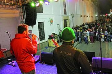 En su día, el rock congregó a centenares en la Capital