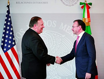 México y EEUU se acercan en crisis por inmigrantes
