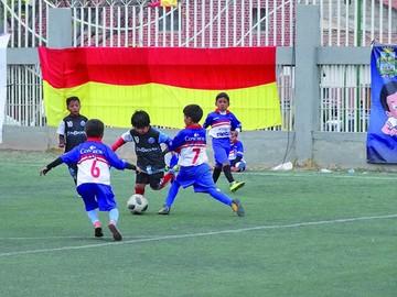 Cantidad y calidad en torneo infantil