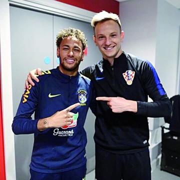 Neymar rompe el silencio y felicita a Rakitic y Mbappé
