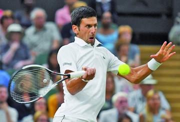 Djokovic se fue a dormir a un set de la final