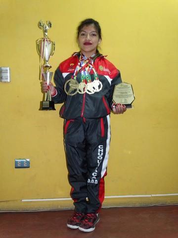 Marisol Arenas una fuerza que llega desde Camargo