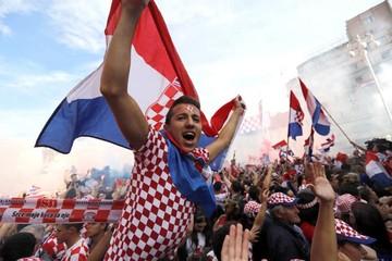 En Croacia festejaron pese a la derrota en la final