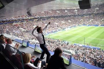 """Macron se adueña de las celebraciones del Mundial con un """"show"""" mediático"""