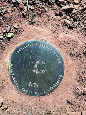 Mueven señalización en el límite con Santa Cruz