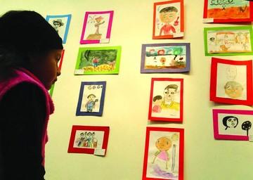 Exponen trabajos de los niños de Veo Veo I