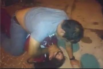 Mayor de policía y ex pareja protagonizan pelea callejera y se disculpan