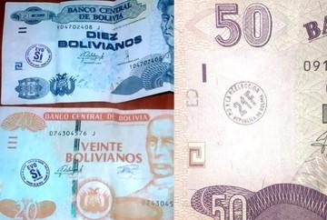Banco Central recomienda no sellar los billetes porque ocasiona deterioro prematuro