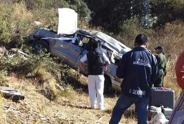 Accidente en la ruta Tomina-Serrano deja una persona fallecida
