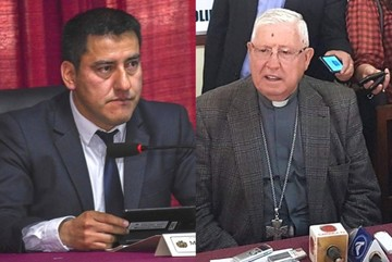 Ministro Zavaleta manda a monseñor Juárez a dejar la sotana y ponerse el traje de político