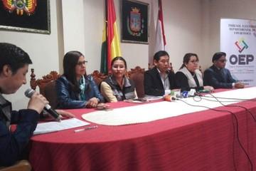 Presidente del TED Chuquisaca afirma que resultado del referéndum del 21F es vinculante