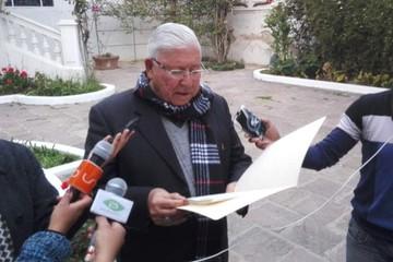 """Monseñor Juárez: """"No me gusta echar leña al fuego, pero si me gusta defender la verdad y la CPE"""""""