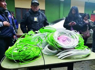 Una menor cae detenida con fulminantes en El Alto