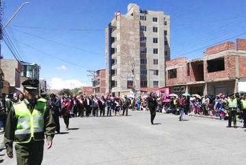 La Policía doblará cantidad de efectivos para los actos del 6 de agosto en Potosí