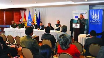 Unodc pide reforzar fronteras contra los grupos de narcos