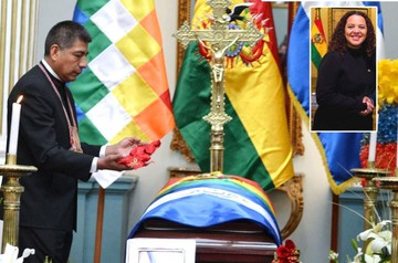 Bolivia condecora y rinde homenaje póstumo a Embajadora de El Salvador