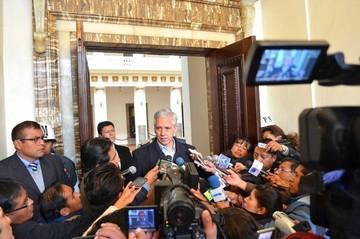 Vice asegura que la Asamblea no tratará en esta legislatura el probable juicio a Mesa