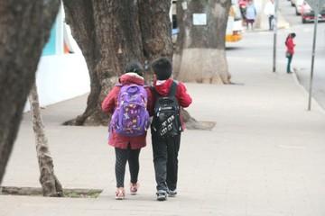Escolares retoman el lunes, el horario  de invierno normal