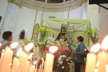 La imagen de Santa Ana, una reliquia eclesiástica
